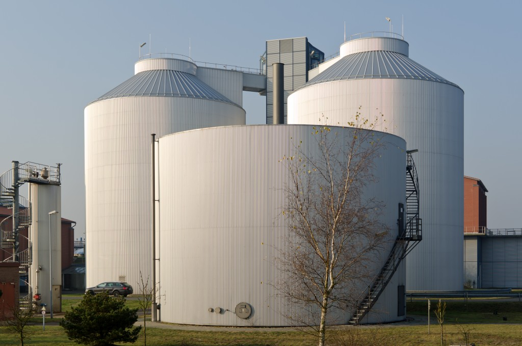 Industrial plant tanks