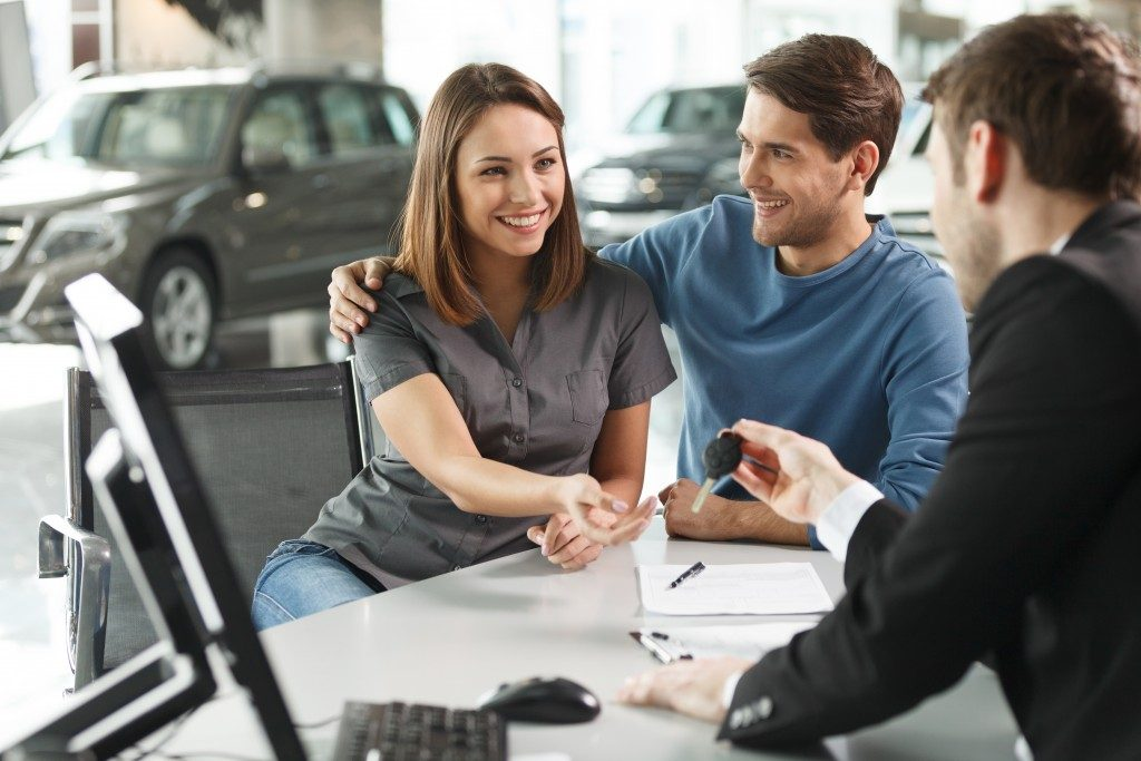 buying a car with someone