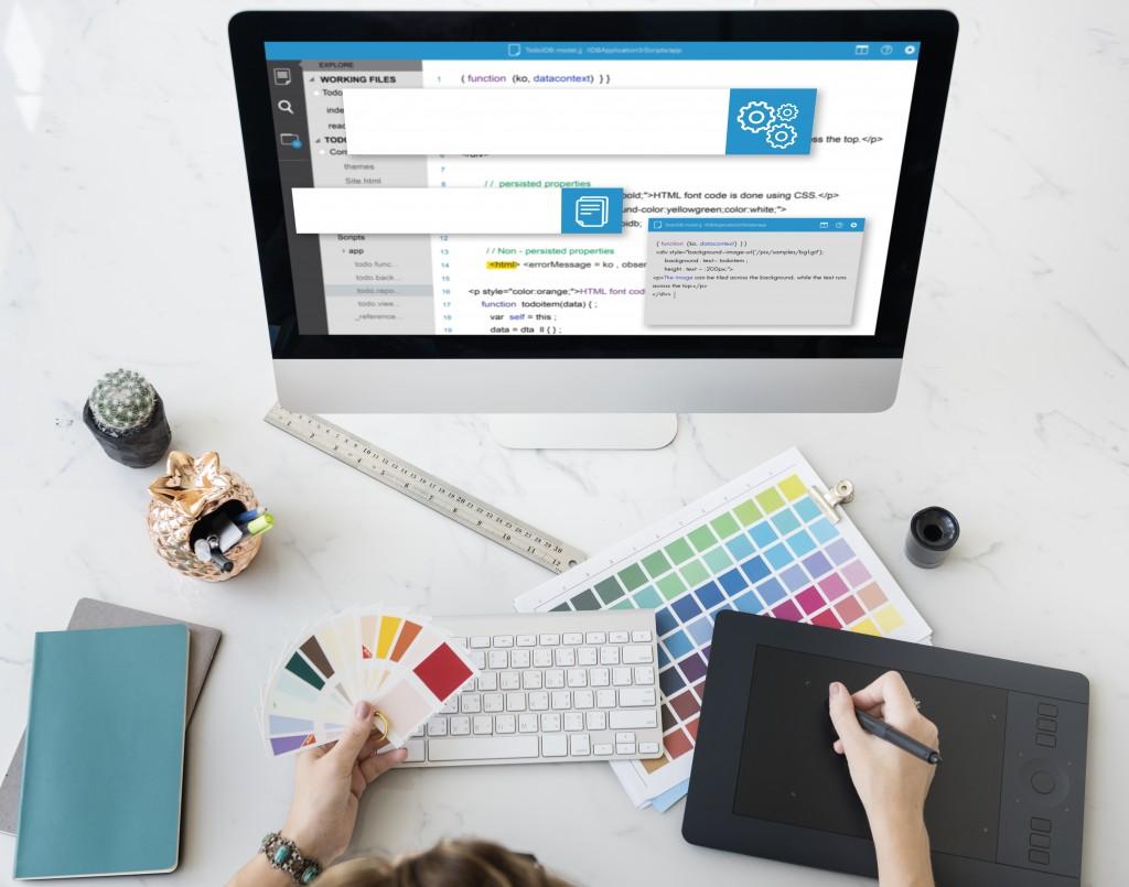 picking colors for digital design