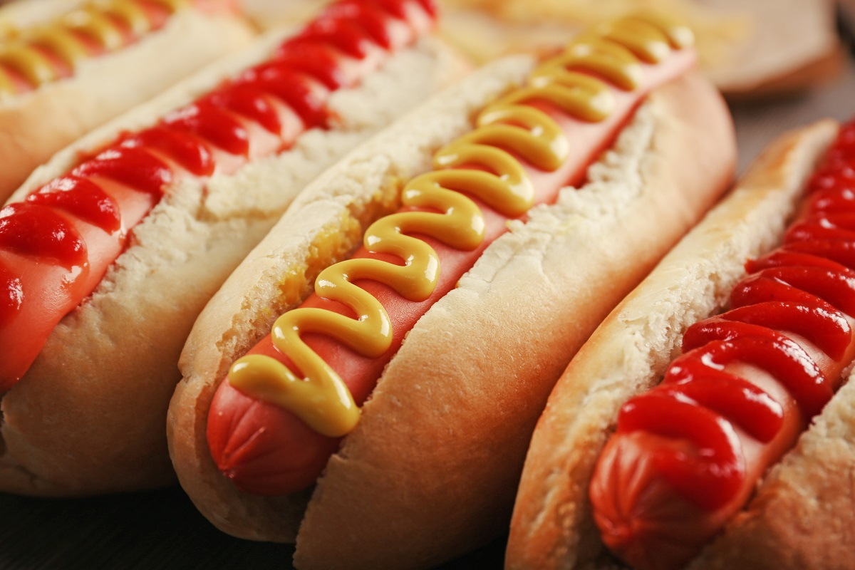 cheesy hotdog