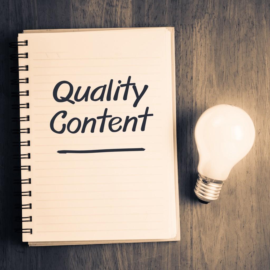 quality content concept