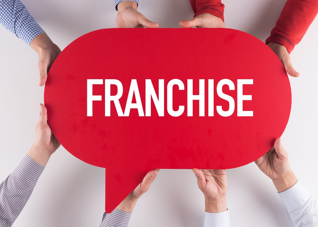 franchise word on message