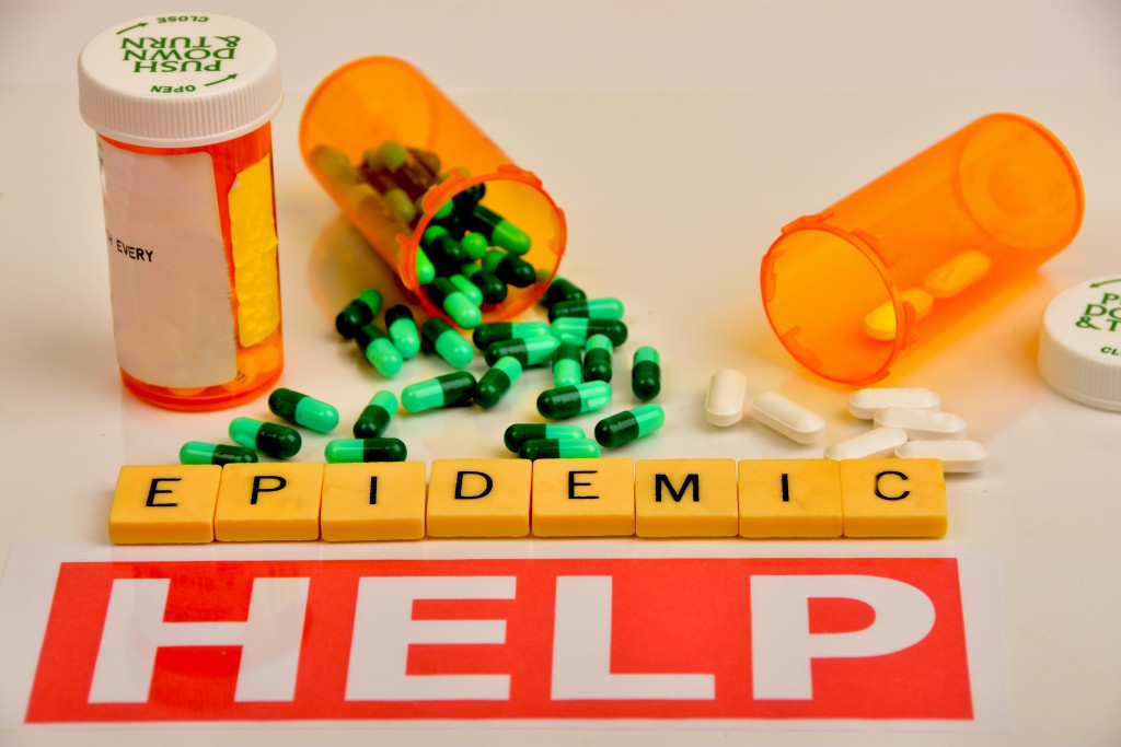 pills prescription during epidemic concept